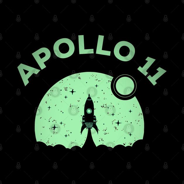 Apollo 11 1969 rocket space astronaut nasa
