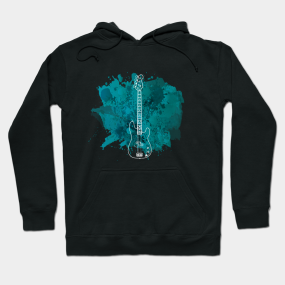 Cool Bass Guitar Hoodies