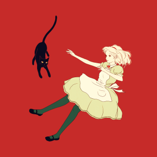 Alice and cat