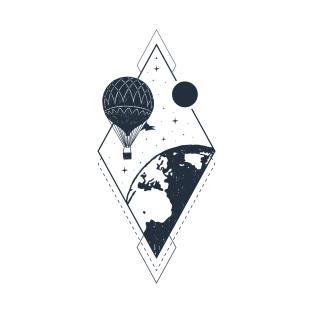 02efd98b Air Balloon T-Shirts | TeePublic