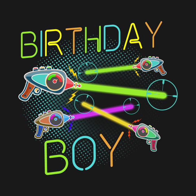 Laser Tag Birthday Shirt Gifts For Cool Kid, Cool Dad