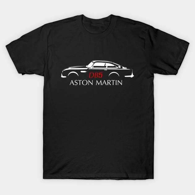 Aston Martin DB Vintage Classic Car TShirt TeePublic - Aston martin shirt