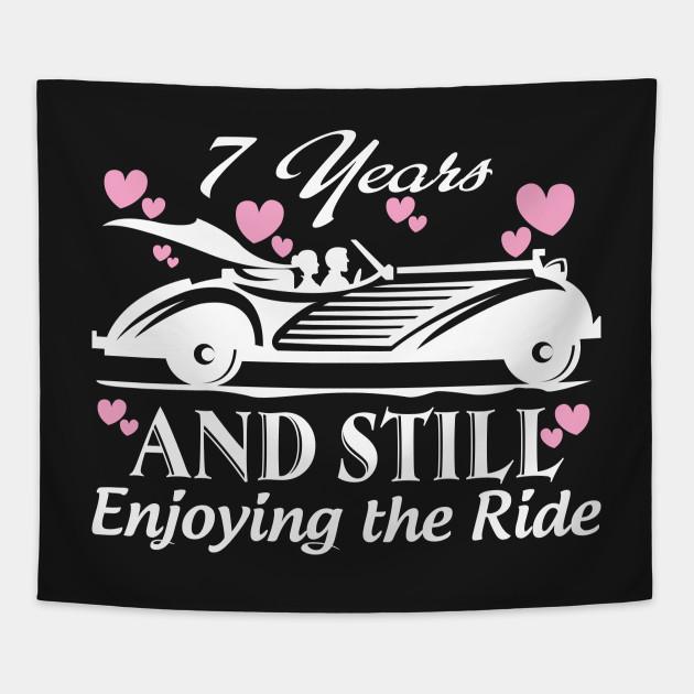 anniversary gift 7 years wedding marriage anniversary tapestry