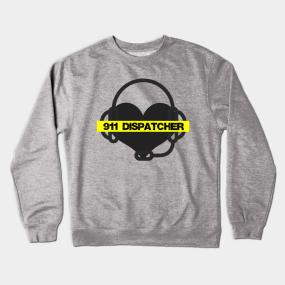 15cc3109fb 911 Dispatcher Crewneck Sweatshirts | TeePublic