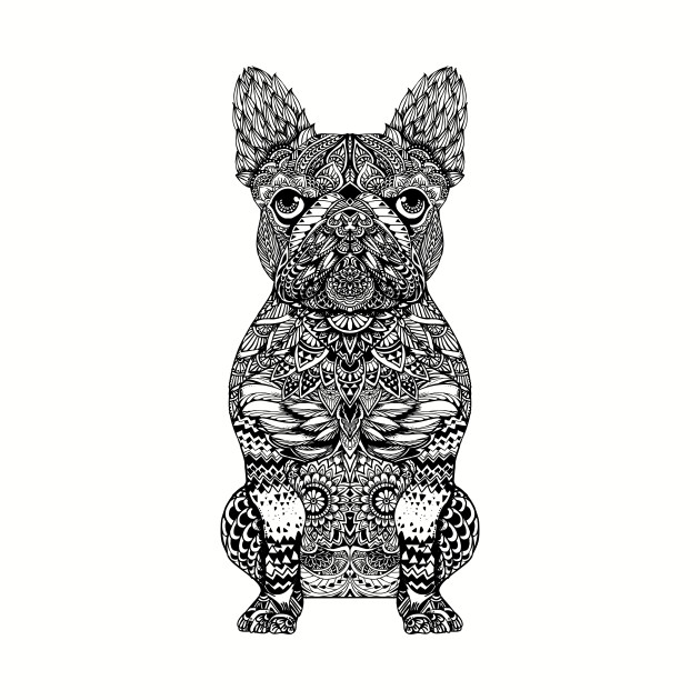 Mandala Frenchie