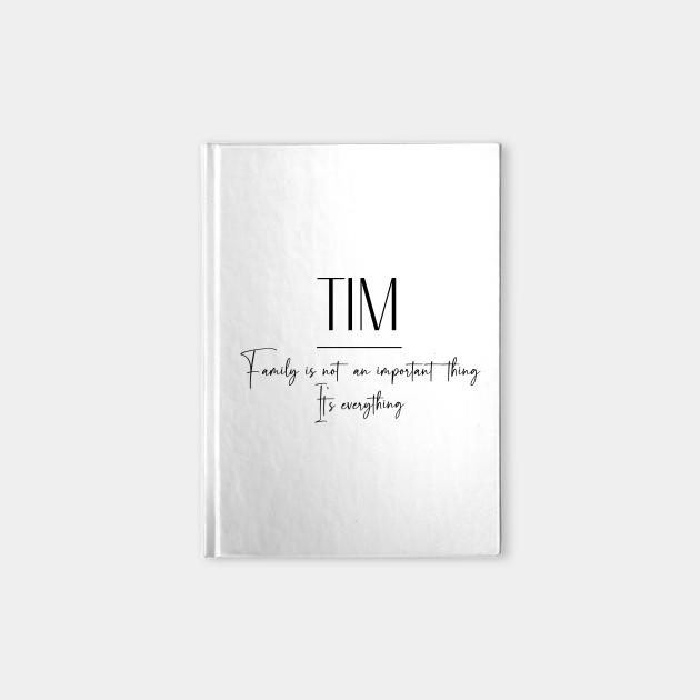 Tim Family, Tim Name, Tim Middle Name