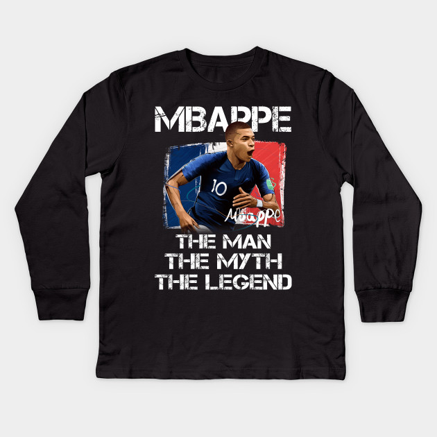 meet facb9 5ab03 Football Soccer Mbappe The Man Myth and Legend Gift T-Shirt for Men and  Women