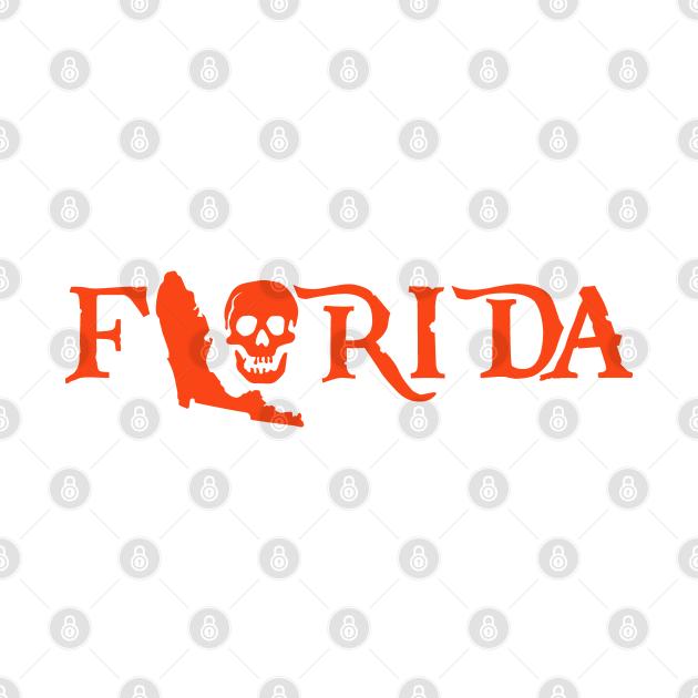 Pirate Skull Florida Gators