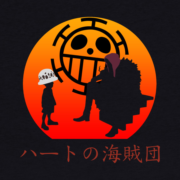Heart Pirates One Piece Baseball T Shirt Teepublic