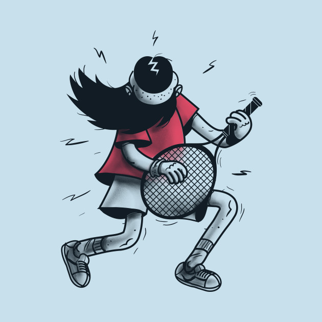 Air Guitar Tennis
