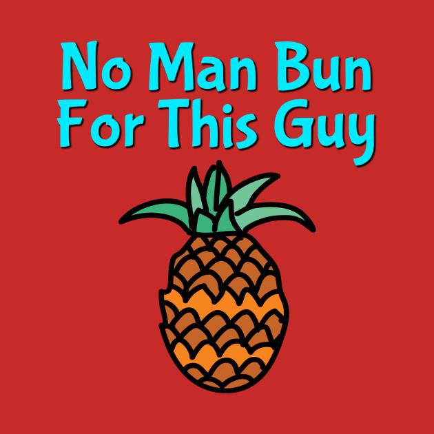 Pineapple Man Bun T-shirt