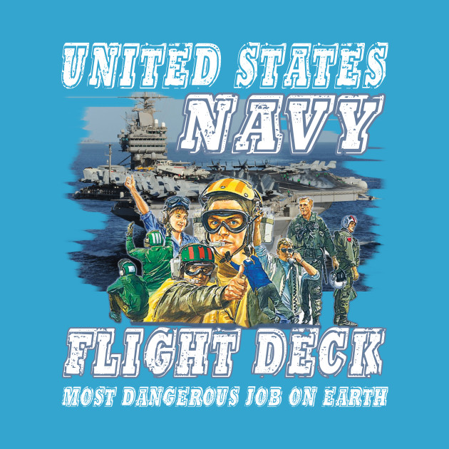 Us Navy Flight Deck Most Dangerous Job On Earth