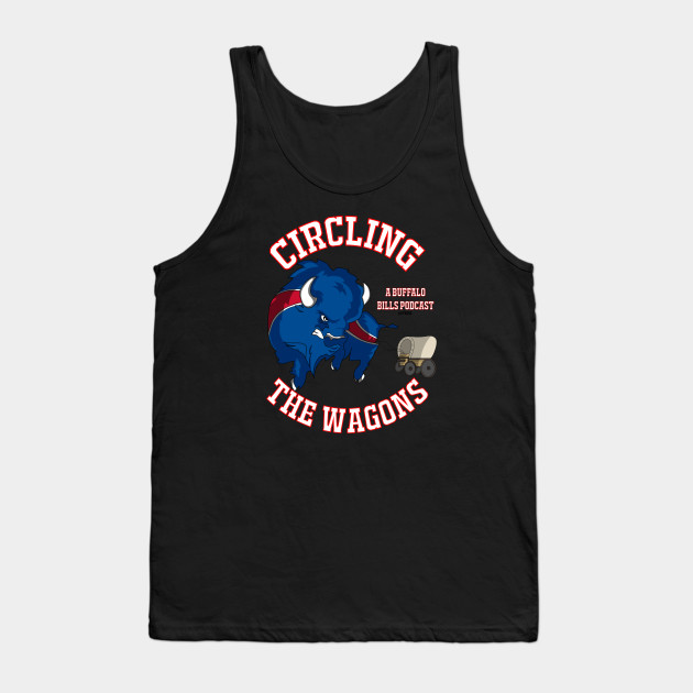 Circling the Wagons Buffalo Bills Circular - Bills - Tank Top ... deeffa850