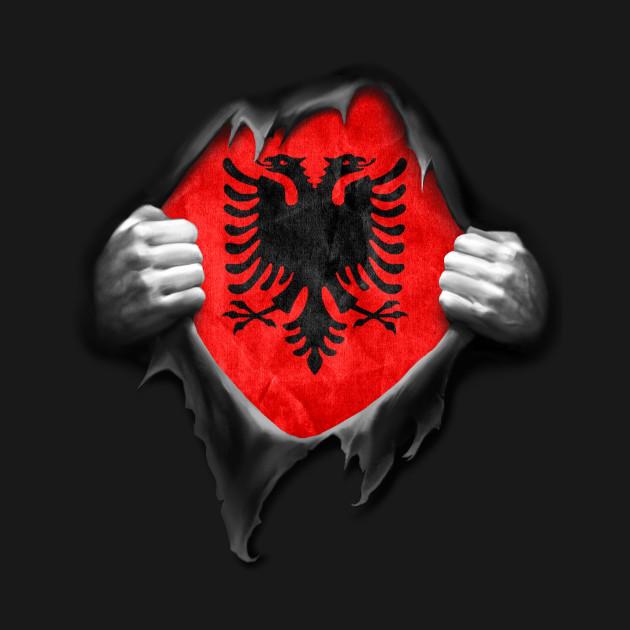 Albania Flag Proud Albanian Albania Flag TShirt TeePublic - Albania flag