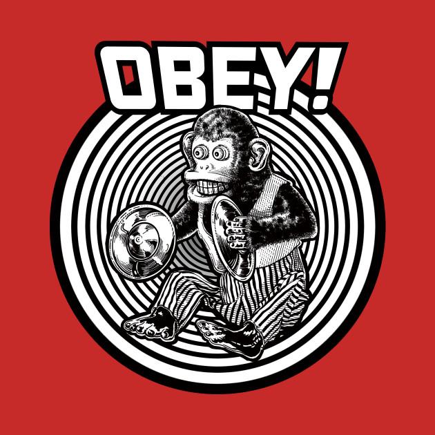 f912d738095c29 OBEY MONKEY! - Monkey - Tank Top