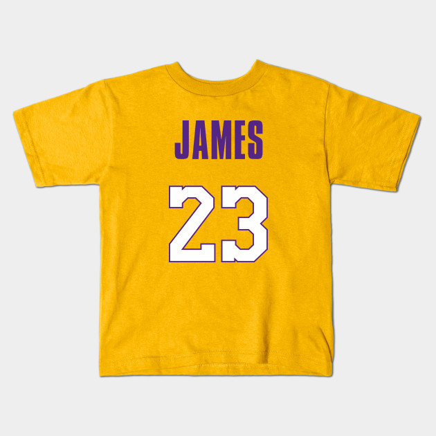 reputable site 381b0 d4657 LeBron James Lakers Jersey 1