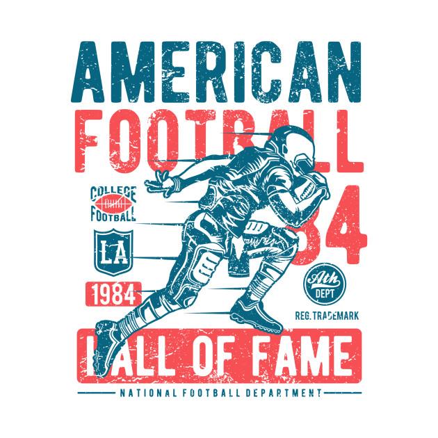 Football American Football Highschool College Pro Athlete Rushing Offense Defense Foot Ball