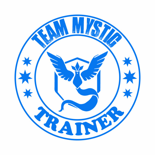 Pokemon Go Team Mystic Trainer
