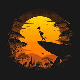 74cc6b6e Lion King T-Shirts and Disney Fan Art   TeePublic