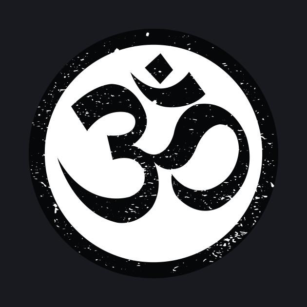 Vintage Yoga Ohm Symbol T-Shirt