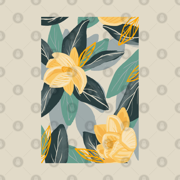 Magnolia Garden Print