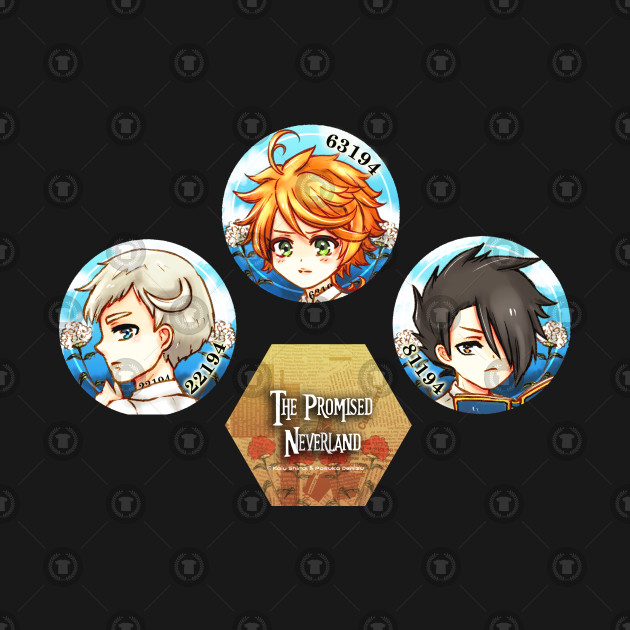 The Promised Neverland Trio