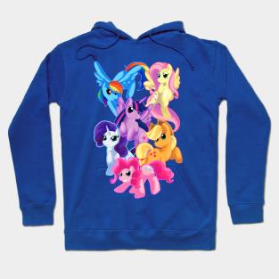 My Little Pony Hoodie Applejack Girls Orange Costume Sweatshirt
