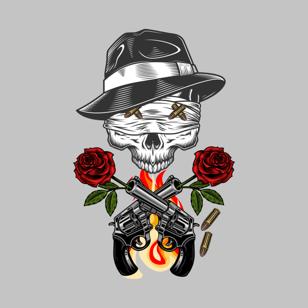 Skull Lovers - flowers