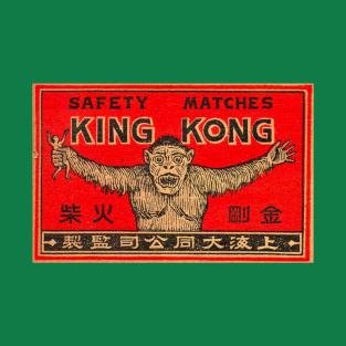 King Kong Matches t-shirts