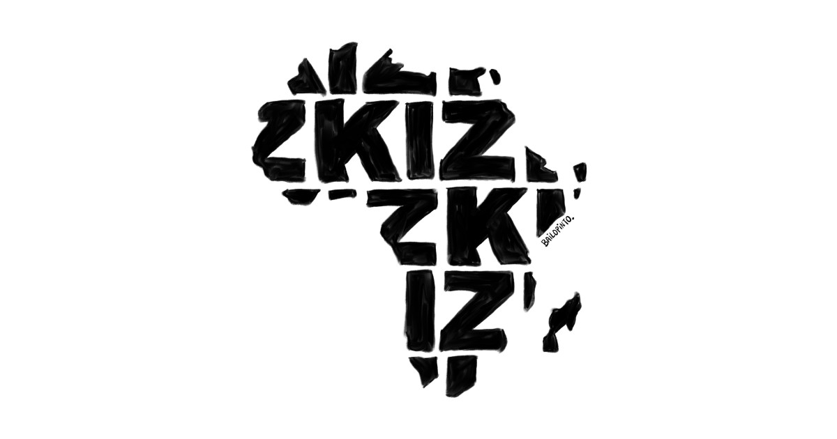 ae8975d6172321 Kizomba in Africa map - Kizomba - Kids T-Shirt | TeePublic