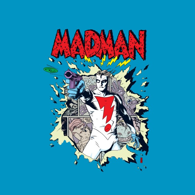 MADMAN Disc Gun!