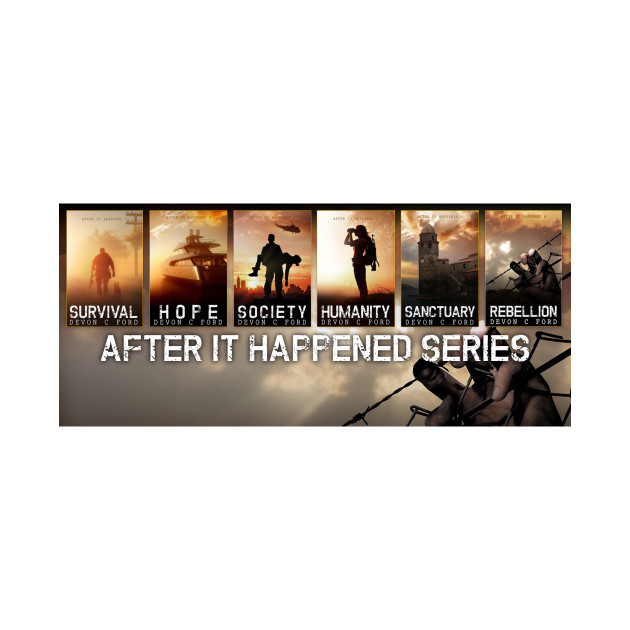 Devon C Ford - After It Happened - Series Banner
