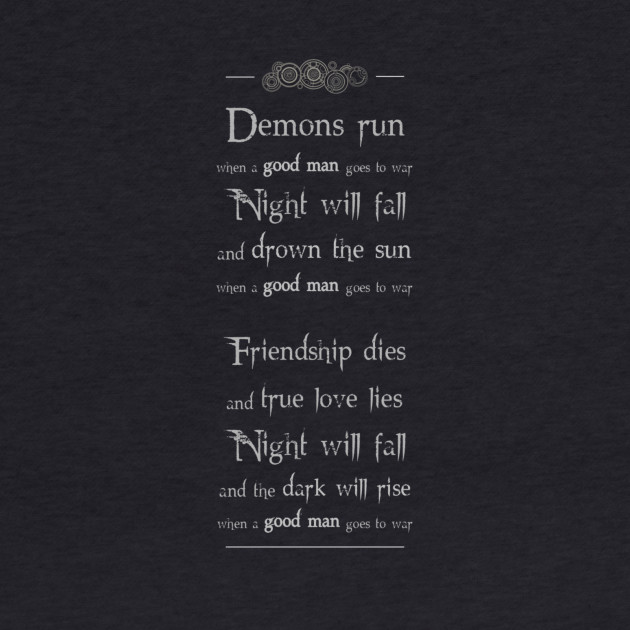 Demons run (grey)