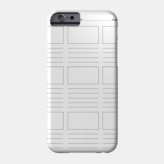 photograph about Printable Phone Case titled Restricted Model. Exceptional Printable Storyboard Template (Proficient)