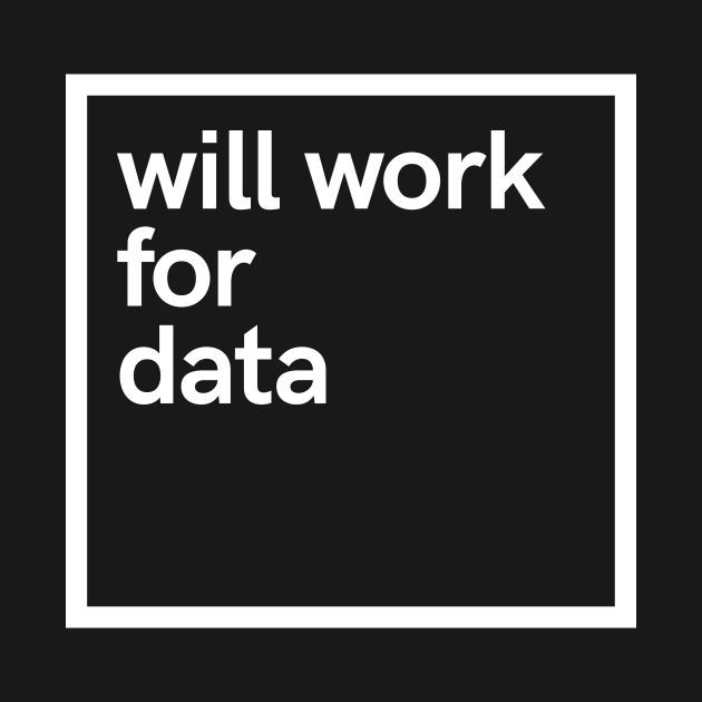 will work for data