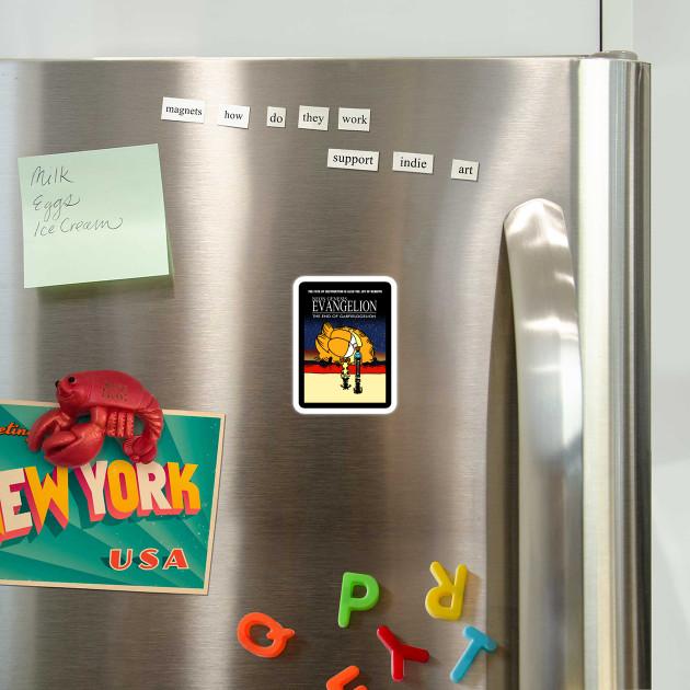Neon Genesis Evangelion Garfield Meme Neon Genesis Evangelion Garfield Magnet Teepublic Au