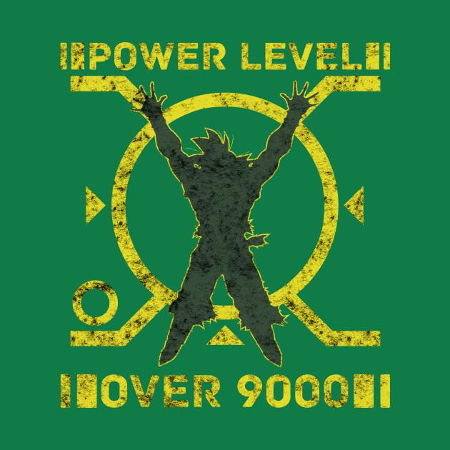 POWER LEVEL OVER 9000