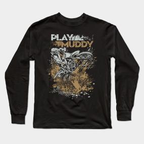 12e7bcafec Mudding Long Sleeve T-Shirts | TeePublic