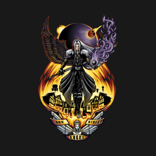 One Winged Angel t-shirts