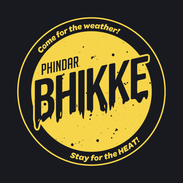 B.H.I.K.K.E. Phindar Yellow T-Shirt