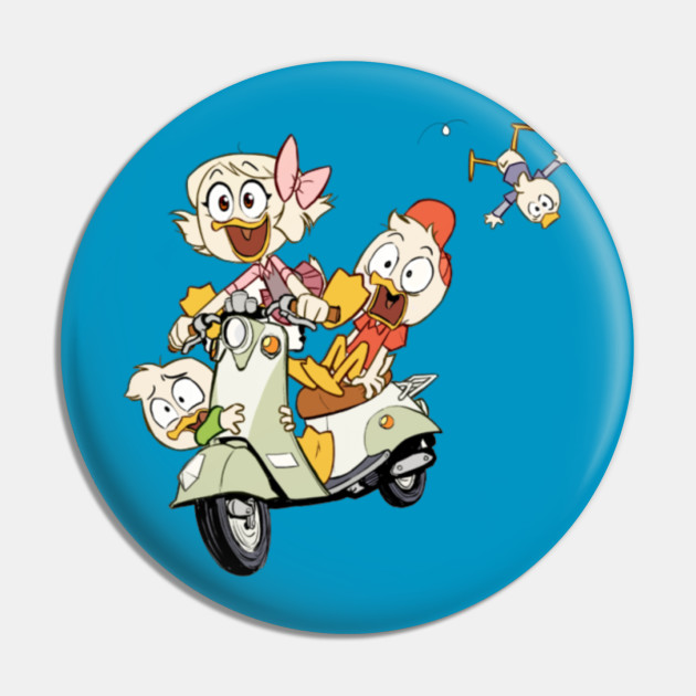 Large Stickers Dewey Louie Donald Huey 10 Duck Tales Scrooge McDuck