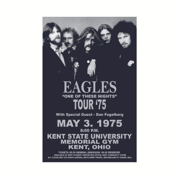 Eagles One Of These Nights 1975 Tour
