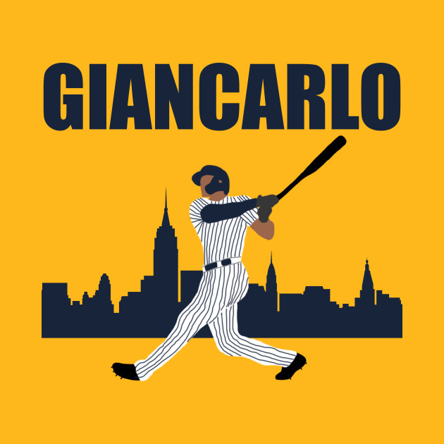 Giancarlo Stanton - New York Yankees - Yankees - T-Shirt | TeePublic
