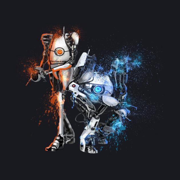 Orange & Blue