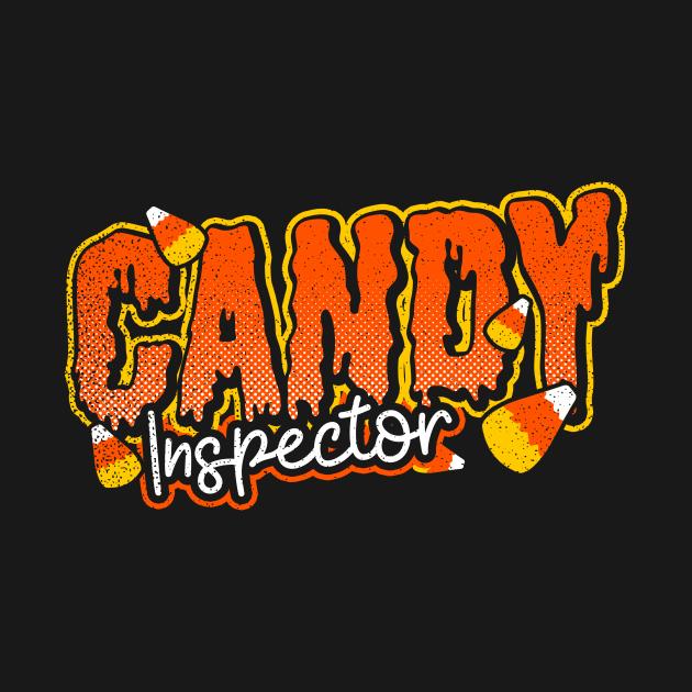 Inspector Shirt | Halloween Candy Inspector Gift