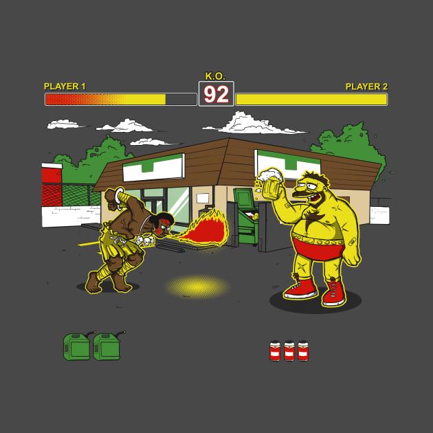Springfield Fighter V T-Shirt