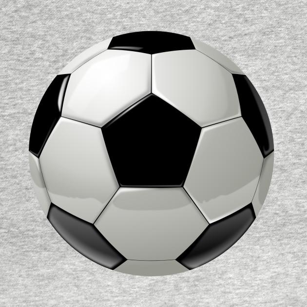 Cool soccer ball sport design. - Soccer Ball - T-Shirt ...