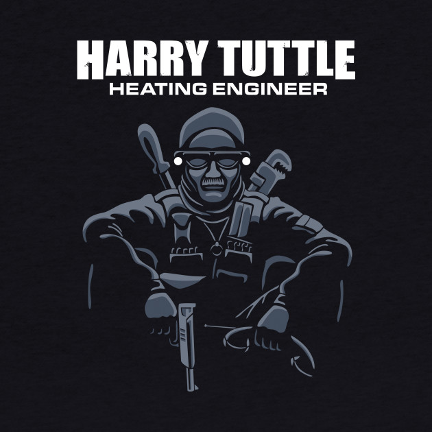 Harry Tuttle - Heating Engineer