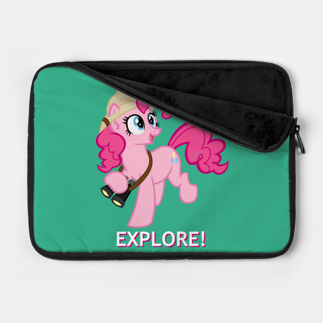 Explore with Pinkie Pie!