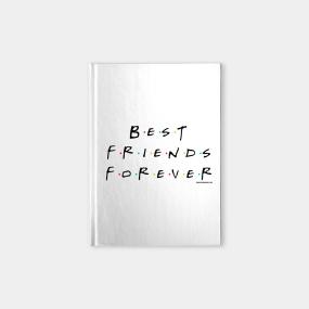 Best Friends Forever Black Notebook